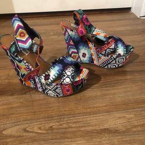 Shoes - Never Worn Steve Madden Wedges